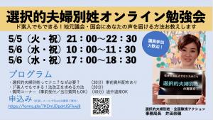 講師の井田奈穂がオンライン勉強会を案内